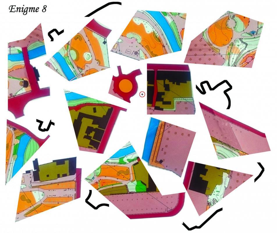 Jardin puzzle copier